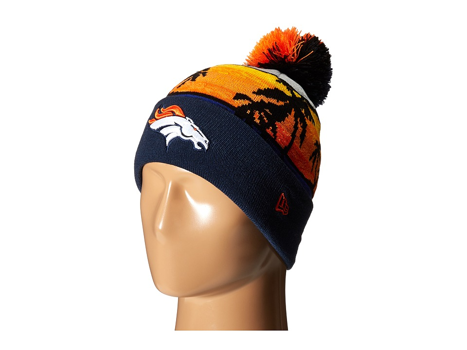 New Era - Winter Beachin Denver Broncos (Orange) Traditional Hats