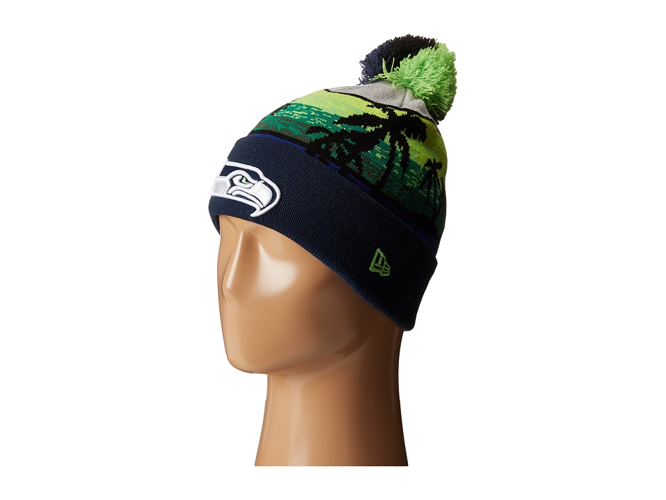New Era - Winter Beachin Seattle Seahawks (Navy) Traditional Hats