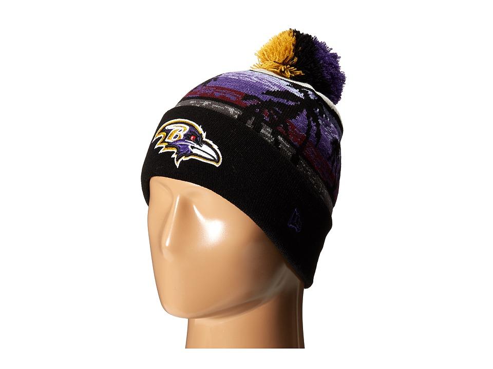 New Era - Winter Beachin Baltimore Ravens (Dark Purple) Traditional Hats