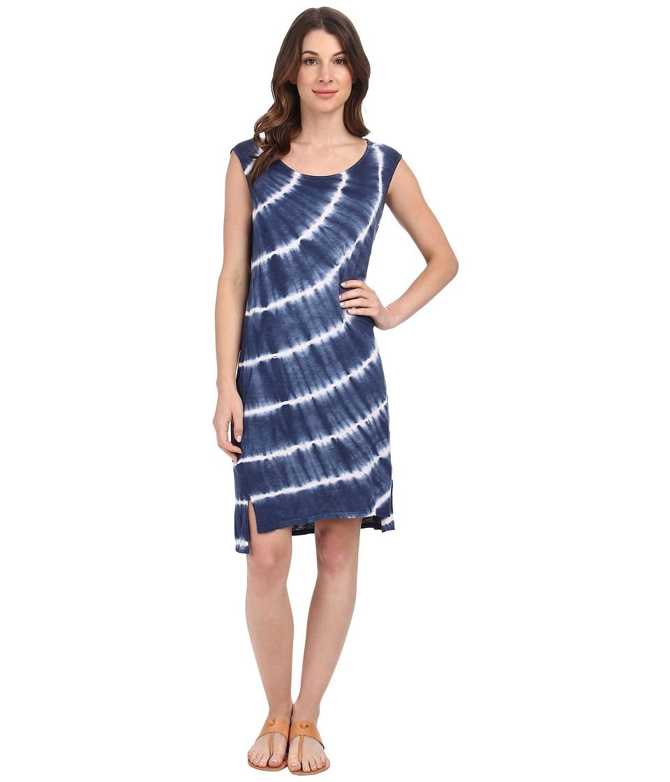 Velvet by Graham & Spencer - Damaris Tie-Dye Top (Blue) Women's Dress