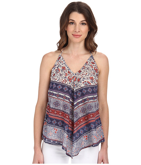Velvet by Graham & Spencer - Euphrate Print Halter Top (Multi) Women's Blouse