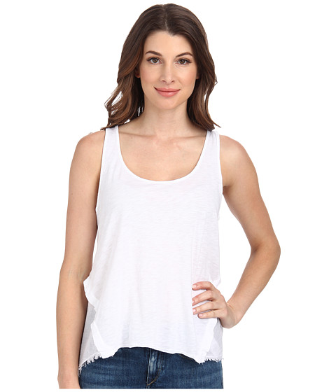 Velvet by Graham & Spencer - Nice Tank Top (White) Women's Sleeveless