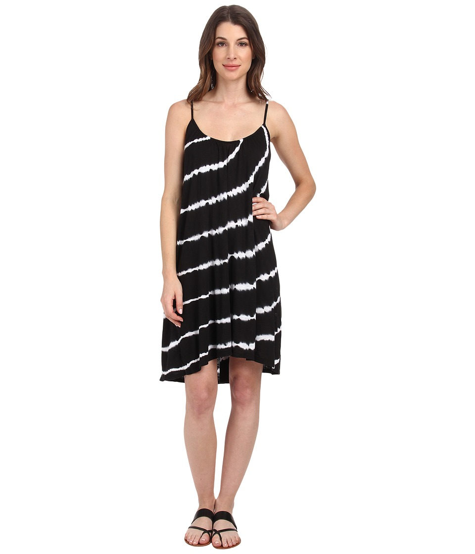 Velvet by Graham & Spencer - Avita Tie-Dye Dress (Black) Women's Dress