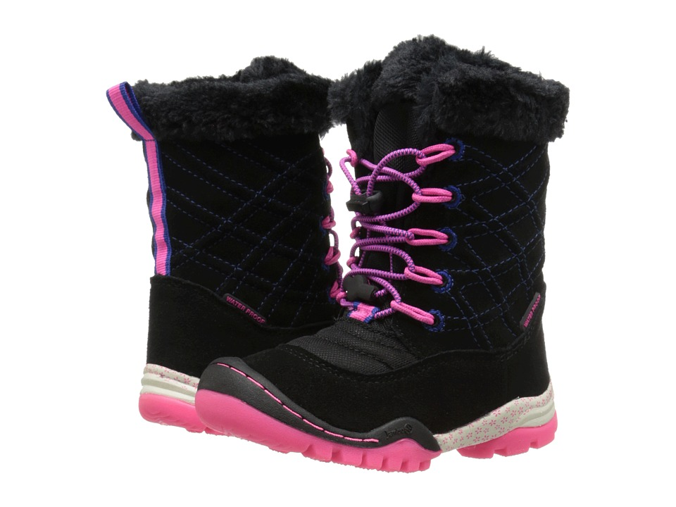 Jambu Kids - Collett 2 (Toddler/Little Kid/Big Kid) (Black) Girls Shoes