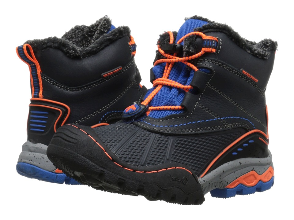 Jambu Kids - Baltoro 2 (Toddler/Little Kid/Big Kid) (Navy/Orange) Boys Shoes