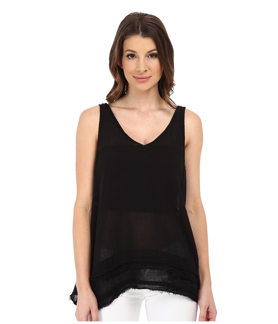 Velvet by Graham & Spencer - Olexy Tank Top (Black) Women's Sleeveless
