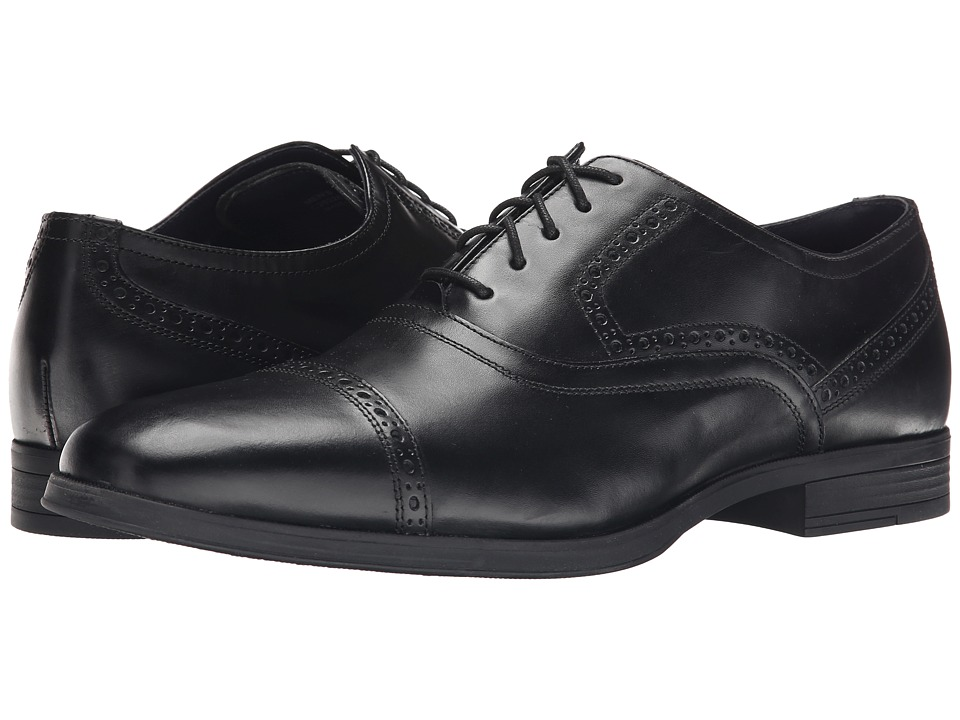 Cole Haan - Montgomery Cap Ox (Black) Men's Lace Up Cap Toe Shoes
