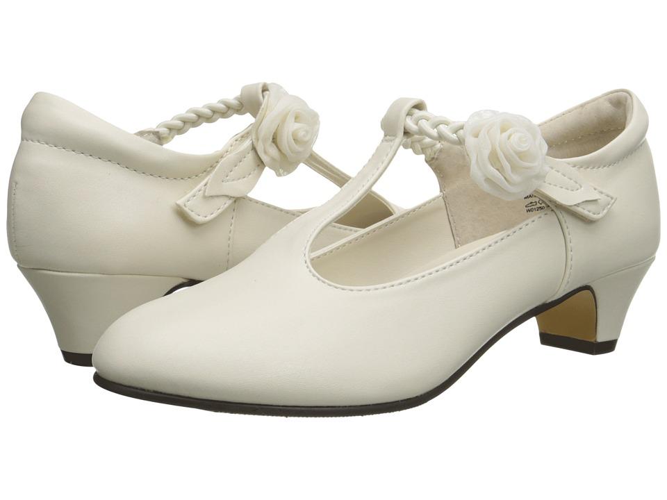 Jumping Jacks Kids - Balleto - Kate (Little Kid/Big Kid) (Bone Smooth/Bone) Girls Shoes