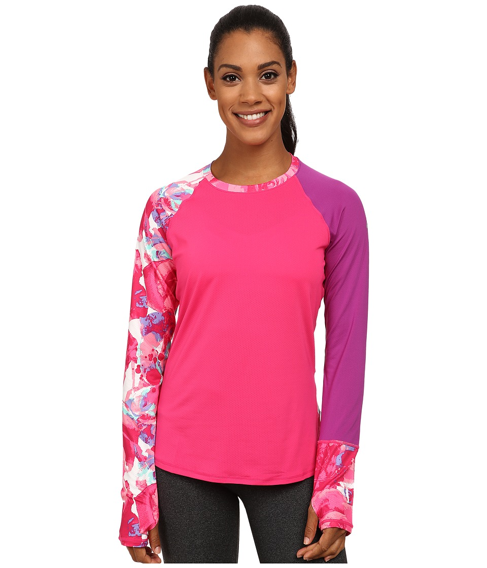 ASICS - Awareness Long Sleeve Top (Purple/Grape) Women's Long Sleeve Pullover