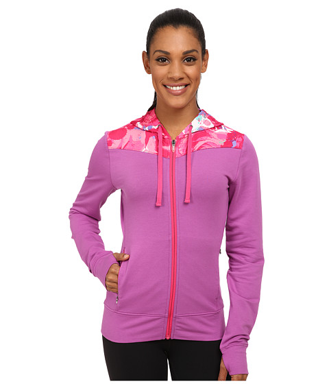 ASICS - Awareness Full Zip Hoodie (Passion Flower) Women's Sweatshirt