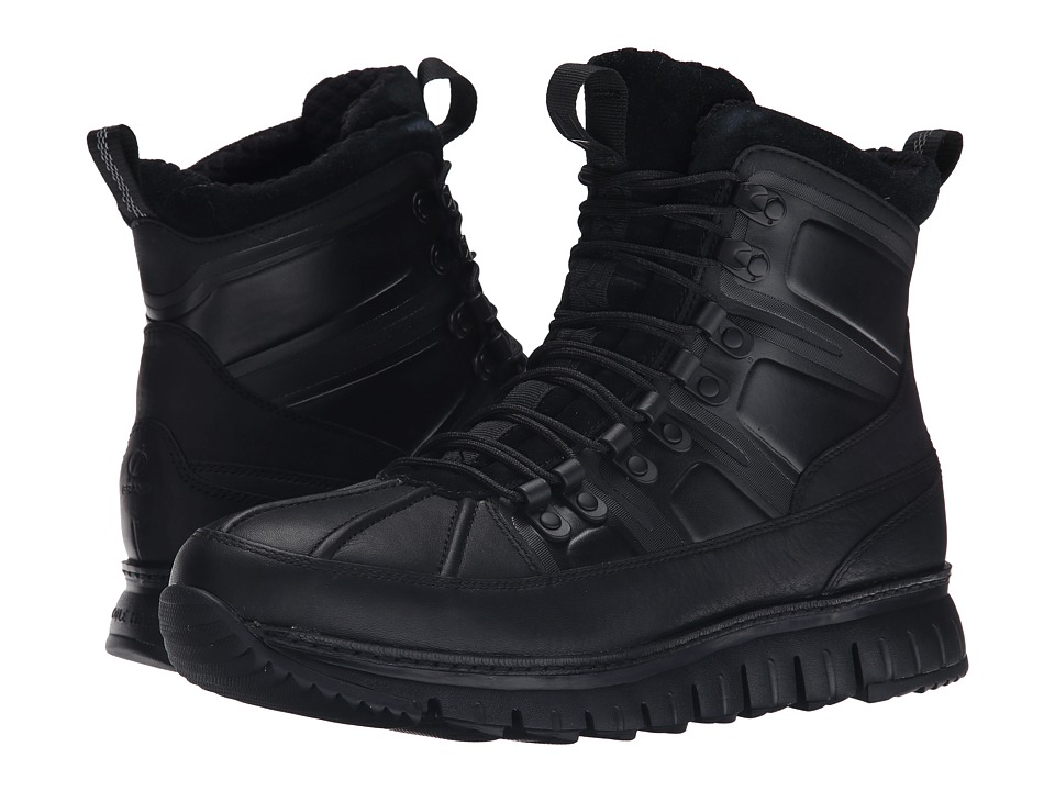 Cole Haan Zerogrand Sport Boot (Black) Men