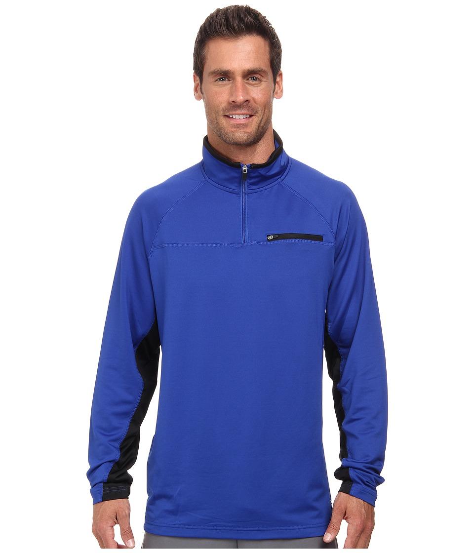 Fila - 1/4 Zip Pullover (Surf The Web/Black) Men