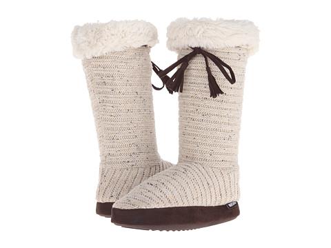 MUK LUKS - Tall Slipper Boot (Natural) Women's Boots
