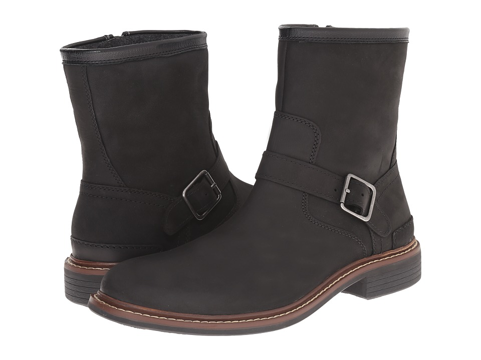 Cole Haan Bryce Zip Boot (Black) Men