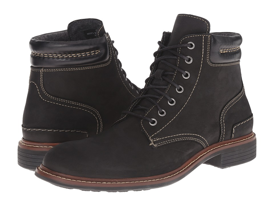 Cole Haan Bryce Lace Boot (Black) Men