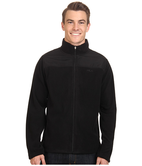 UPC 633641580954 - Fila Arctic Fleece Jacket (Black/Black) Men's ...