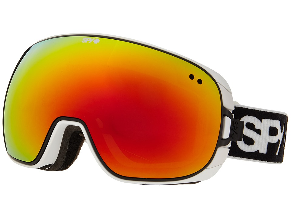 Spy Optic - Doom (White/Bronze/Red Spectra/Blue Contact) Snow Goggles
