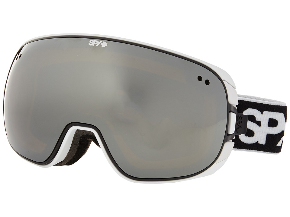 Spy Optic - Doom (White/Bronze/Silver Mirror/Persimmon Contact) Snow Goggles