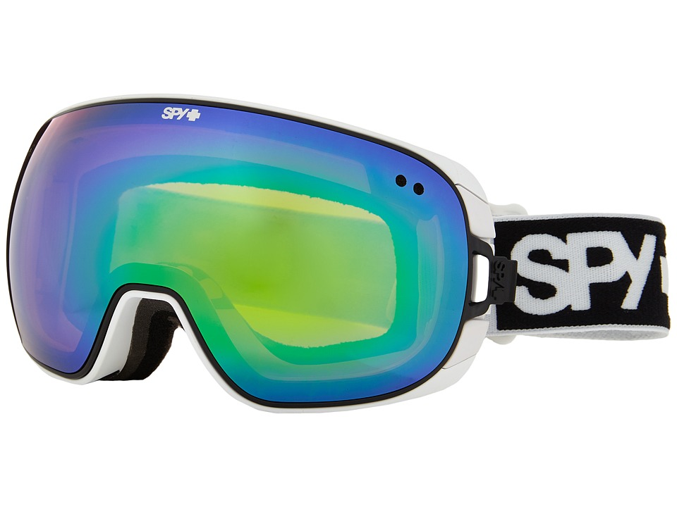 Spy Optic - Doom (White/Bronze/Green Spectra/Yellow Contact) Snow Goggles