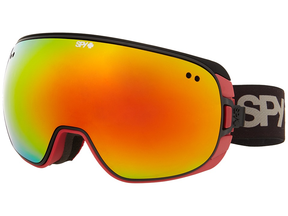 Spy Optic - Doom (Red Fade/Bronze/Red Spectra/Persimmon Contact) Snow Goggles