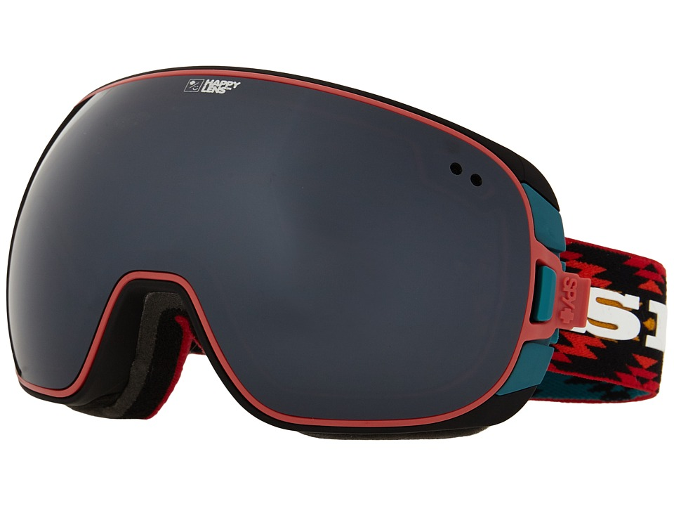 Spy Optic - Doom (Spy/Wiley Miller/Happy Gray Green/Silver Mirror/Happy Yellow/G) Snow Goggles