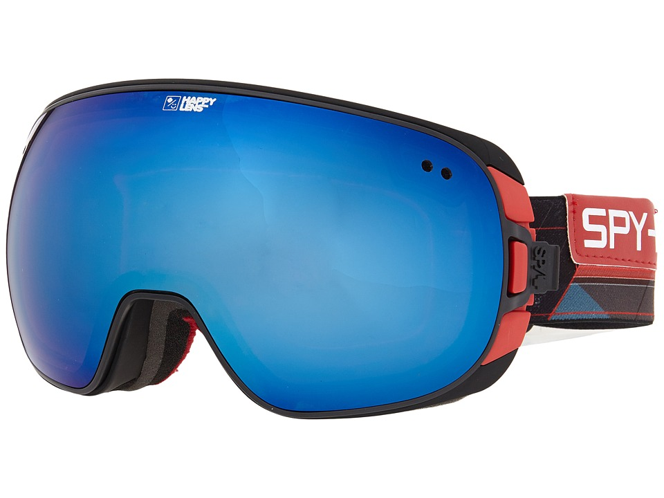Spy Optic - Doom (Prismatic Red/Happy Rose/Dark Blue Spectra/Happy Bronze/Silver M) Snow Goggles