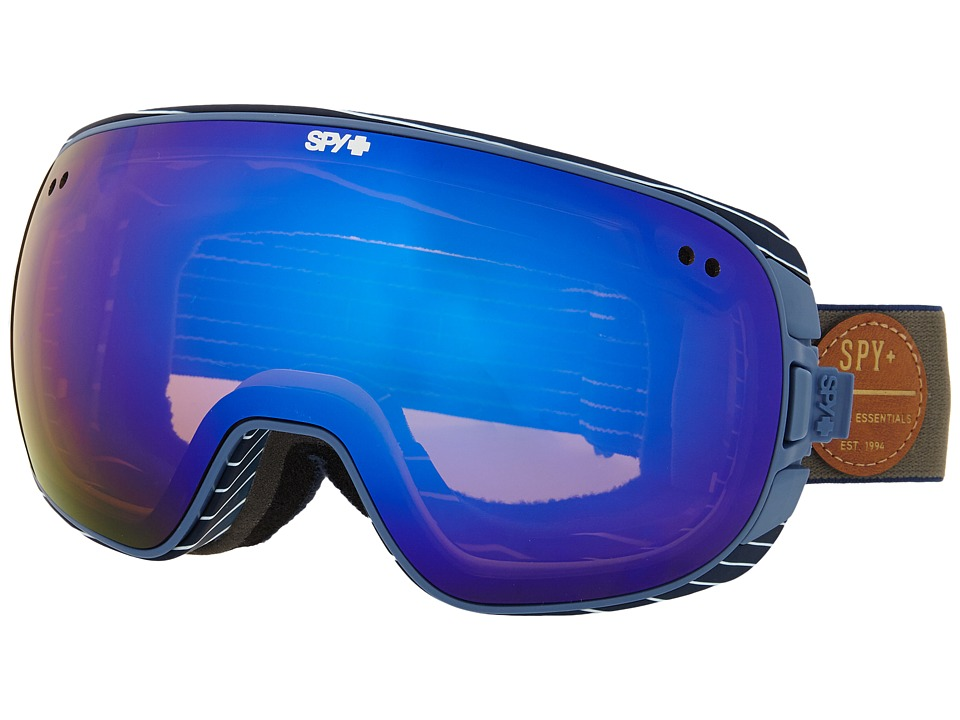 Spy Optic - Doom (Heritage Grey/Happy Bronze/Dark Blue Spectra/Happy Persimmon/Sil) Snow Goggles