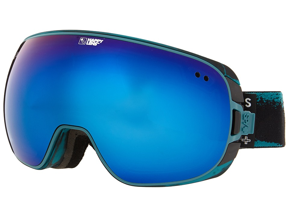 Spy Optic - Doom (Masked Teal/Happy Bronze/Dark Blue Spectra/Happy Persimmon/Silve) Snow Goggles
