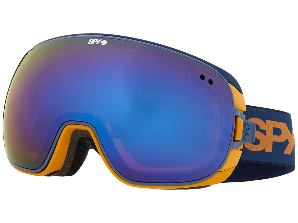 Spy Optic - Doom (Blue Fade/Bronze/Dark Blue Spectra/Yellow Contact) Snow Goggles