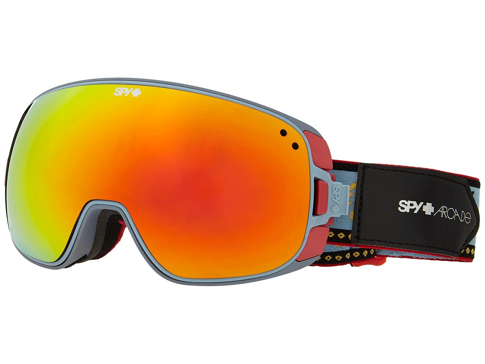 Spy Optic - Bravo (Spy/Arcade/Bronze/Red Sprectra/Persimmon Contact) Snow Goggles