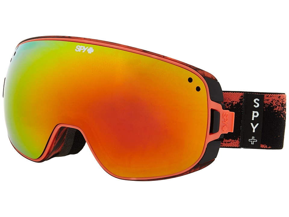Spy Optic - Bravo (Masked Red/Bronze/Red Spectra/Persimmon Contact) Snow Goggles