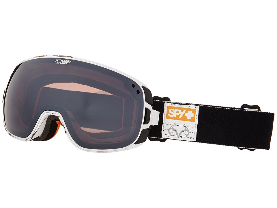 Spy Optic - Bravo (Spy/Real Tree/Happy Bronze/Silver Mirror/Happy Yellow) Snow Goggles