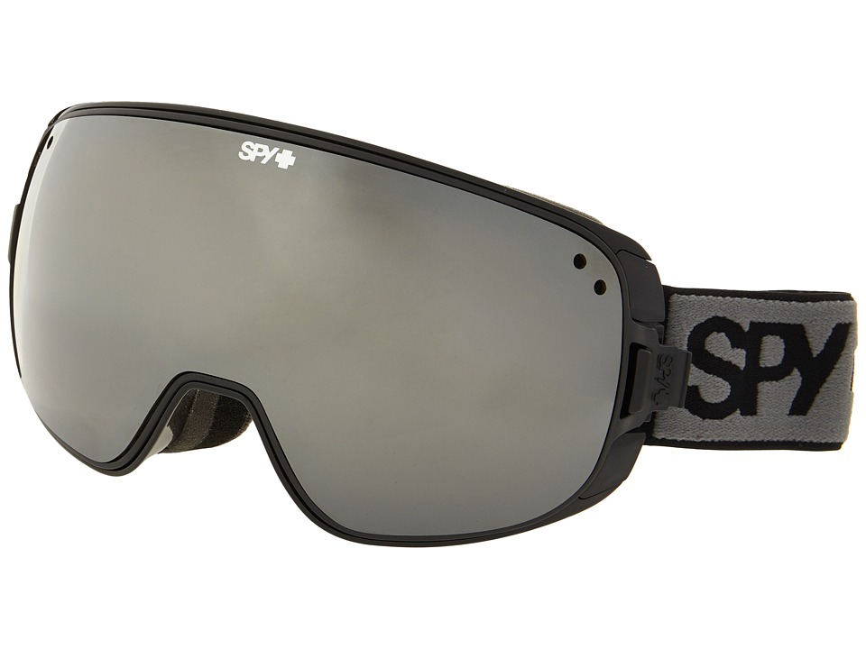 Spy Optic - Bravo (Black/Bronze/Silver Mirror/Persimmon Contact) Snow Goggles