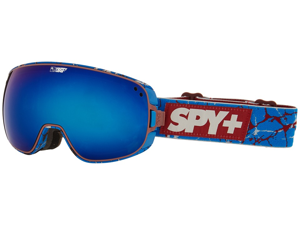 Spy Optic - Bravo (Spy/Louie Vito/Happy Bronze/Dark Blue Spectra/Happy Persimmon) Snow Goggles