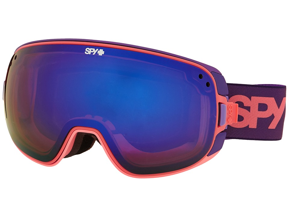 Spy Optic - Bravo (Purple Fade/Bronze/Dark Blue Spectra/Pink Contact) Snow Goggles