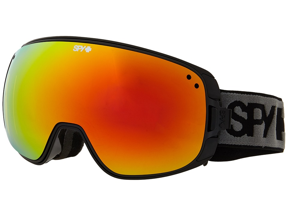 Spy Optic - Bravo (Black/Bronze/Red Spectra/Blue Contact) Snow Goggles