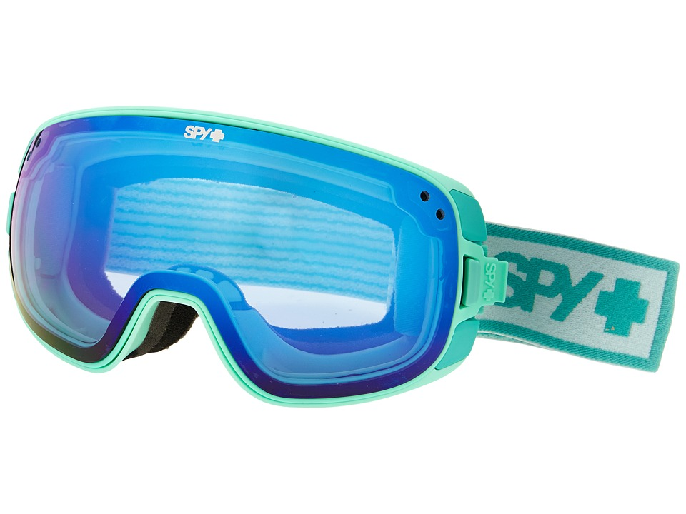 Spy Optic - Bravo (Elemental Mint/Blue Contact/Pink/Silver Mirror) Snow Goggles