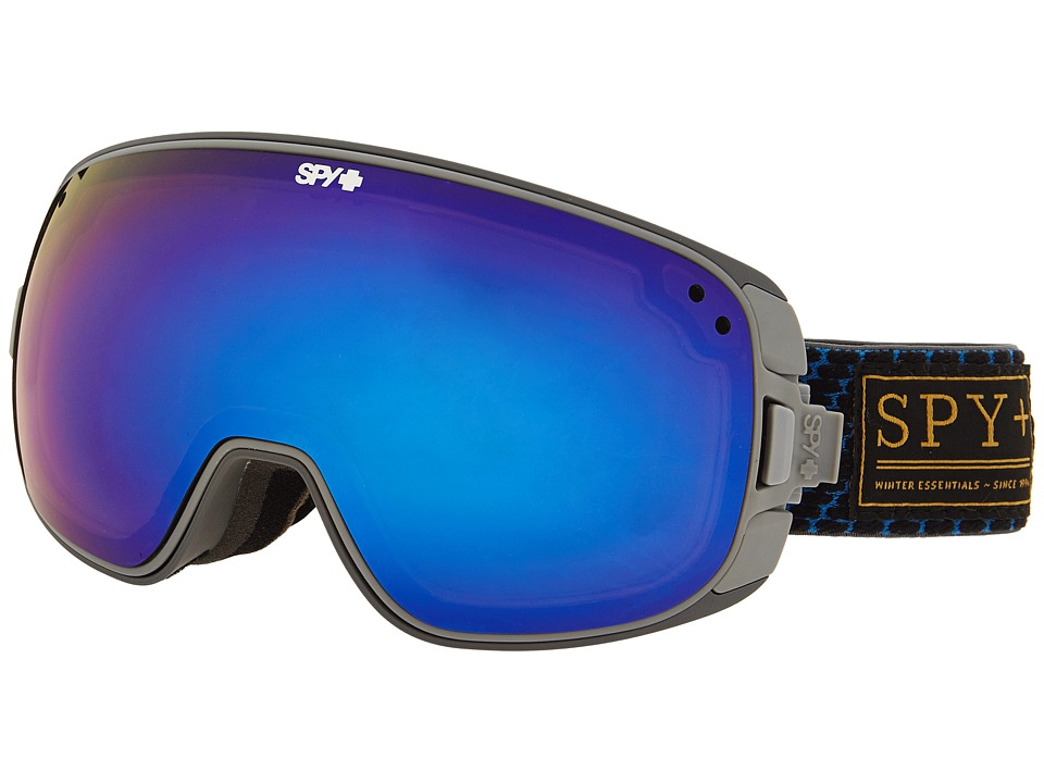 Spy Optic - Bravo (Undercover Blue/Bronze/Dark Blue Spectra/Yellow Contact) Snow Goggles