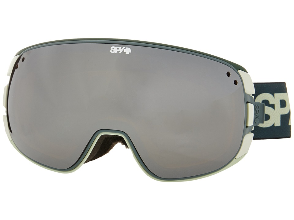 Spy Optic - Bravo (Green Fade/Bronze/Silver Mirror/Persimmon) Snow Goggles
