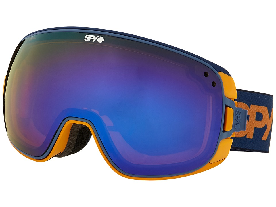 Spy Optic - Bravo (Blue Fade/Bronze/Dark Blue Spectra/Blue Contact) Snow Goggles