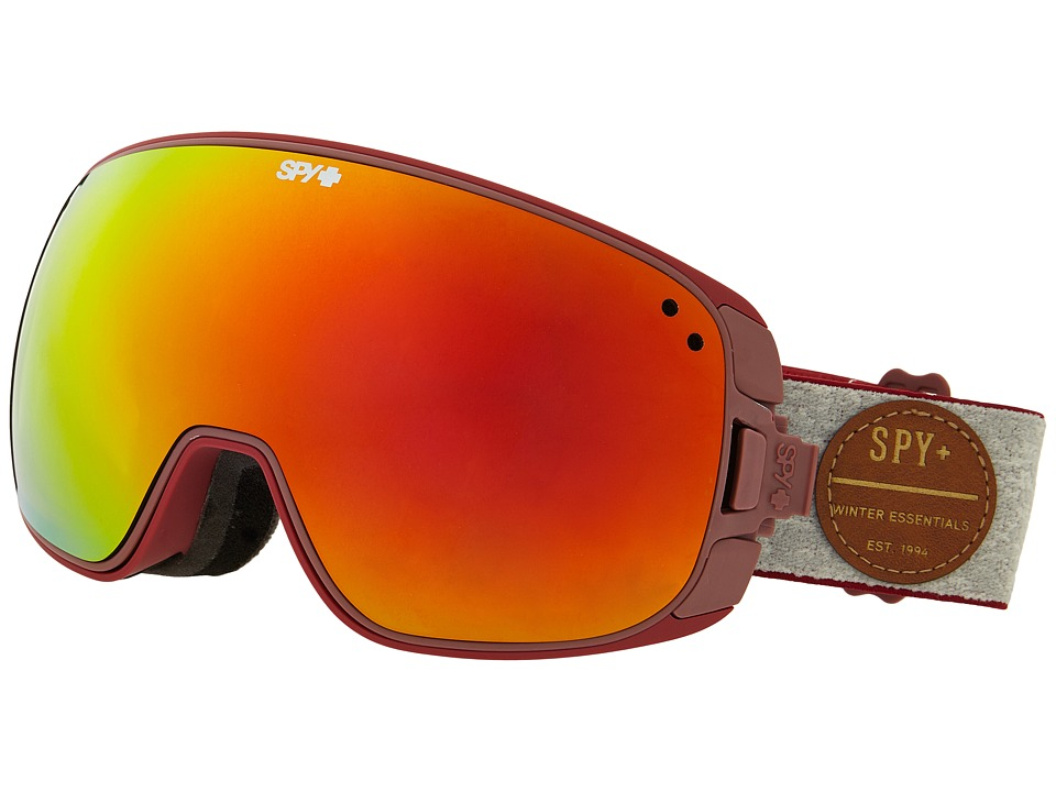 Spy Optic - Bravo (Heritage Red/Bronze/Red Spectra/Persimmon Contact) Snow Goggles