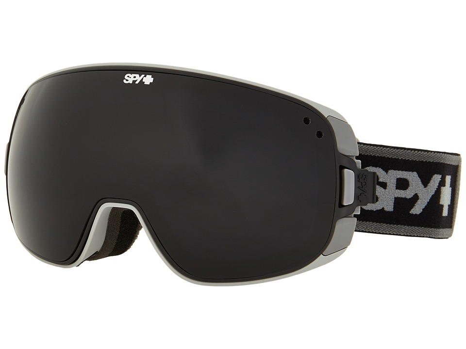 Spy Optic - Bravo (Elemental Gray/Dark Gray/Yellow Contact) Snow Goggles