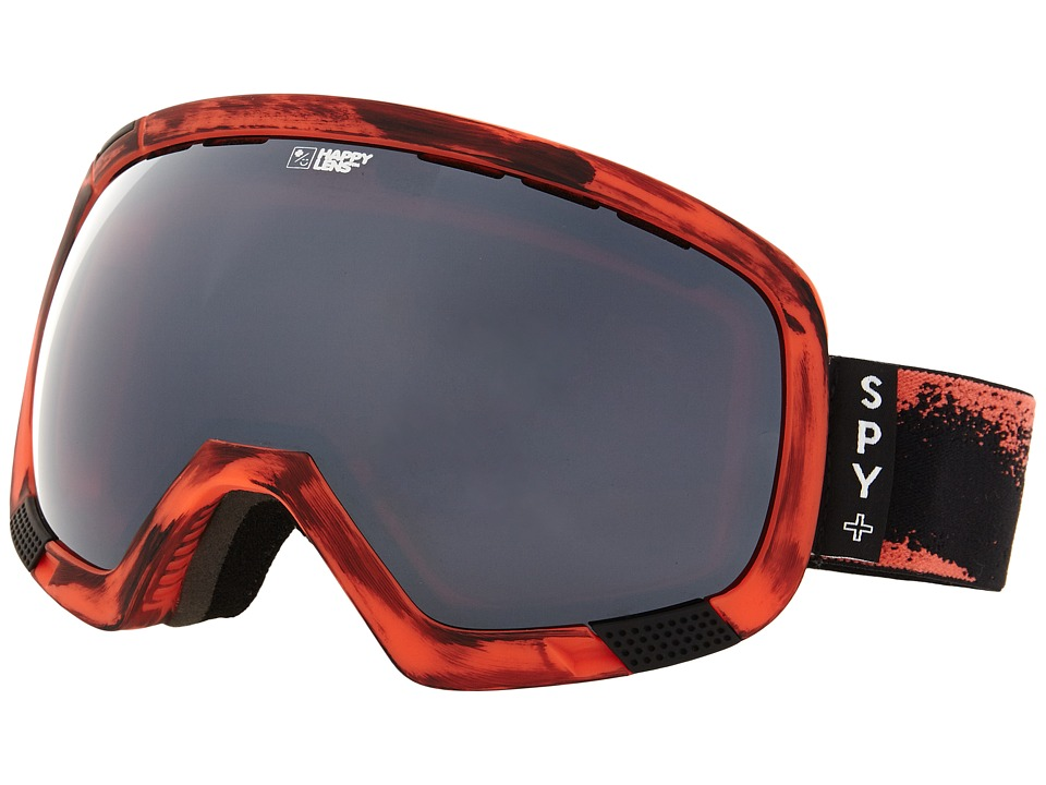 Spy Optic - Platoon (Masked Red/Happy Bronze/Silver Mirror/Happy Rose) Snow Goggles