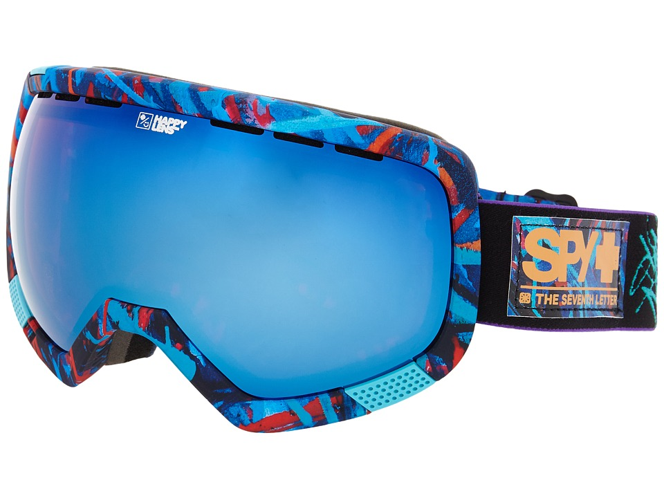 Spy Optic - Platoon (Spy/Saber/Happy Rose/Dark Blue Spectra/Happy Bronze) Snow Goggles