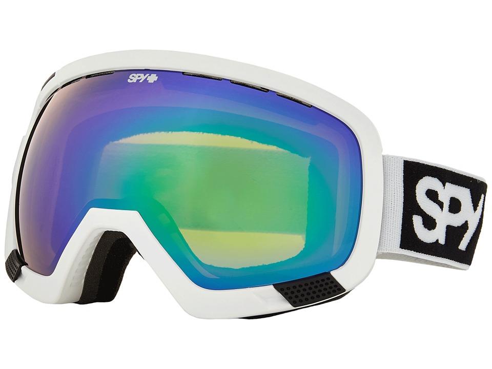 Spy Optic - Platoon (White Bronze/Green Spectra/Yellow Contact) Snow Goggles