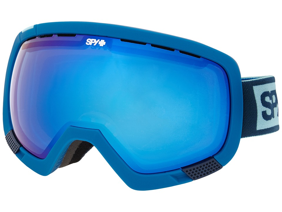 Spy Optic - Platoon (Elemental Blue/Blue Contact/Bronze/Silver Mirror) Snow Goggles