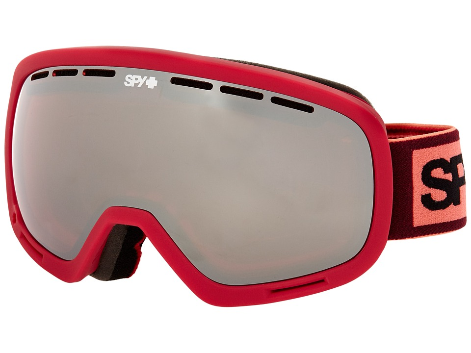 Spy Optic - Marshall (Elemental Blush/Pink/Silver Mirror/Pink) Snow Goggles