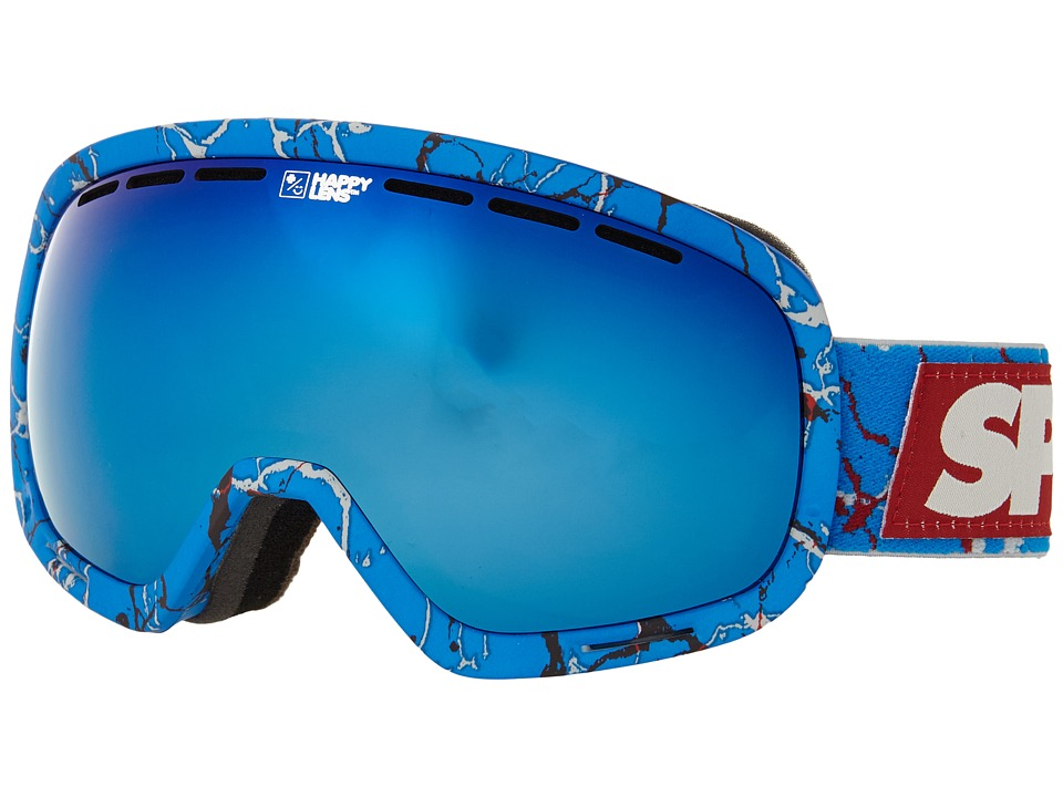 Spy Optic - Marshall (Spy/Louie Vito/Happy Bronze/Dark Blue Spectra/Happy Persimmon/Si) Snow Goggles