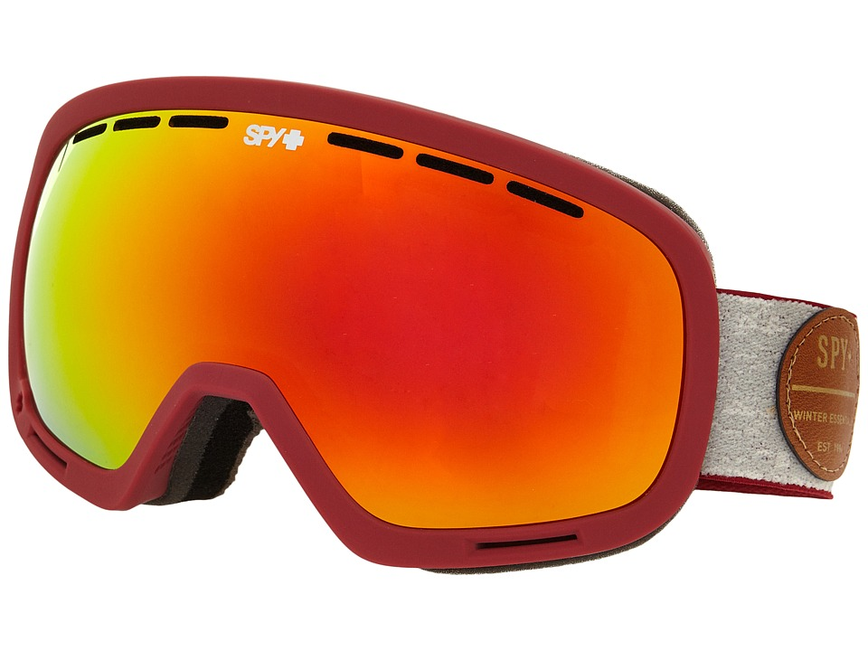 Spy Optic - Marshall (Heritage Red/Bronze/Red Spectra/Persimmon Contact) Snow Goggles