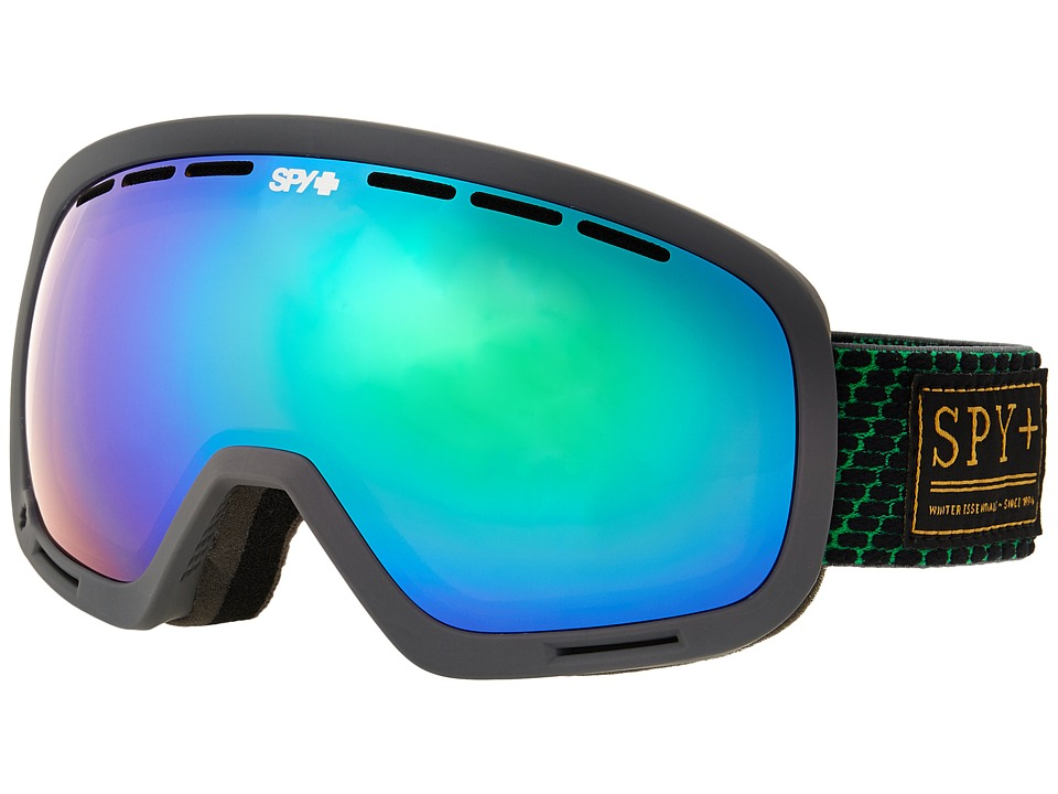 Spy Optic - Marshall (Undercover Green/Bronze/Green Spectra/Yellow Contact) Snow Goggles
